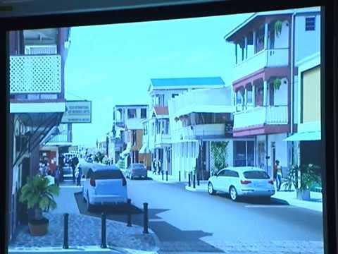 GIS Dominica, Conceptual Design for Transformation of Roseau 1