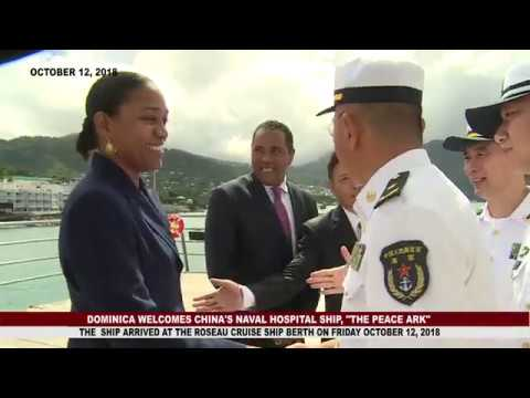 DOMINICA WELCOMES CHINA'S NAVY MEDICAL HOSPITAL 1