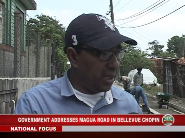 Magua Road Gets Attention 1