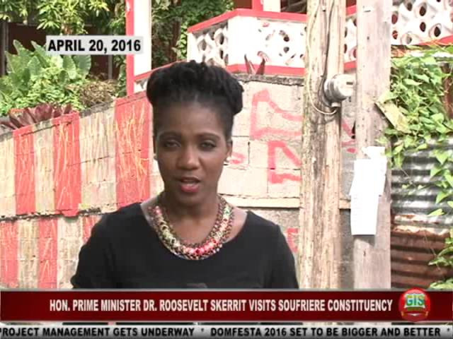 GIS Dominica Special Report: PM Skerrit Visits Soufriere Constituency 2