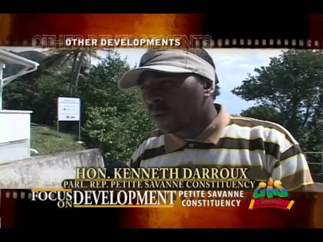 GIS Dominica: Focus on Development - Petite Savanne 7