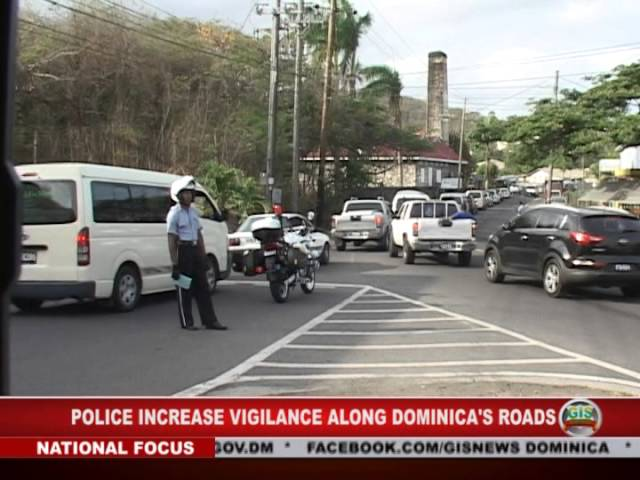 GIS Dominica: Local Police More Vigilant About Road Safety 7