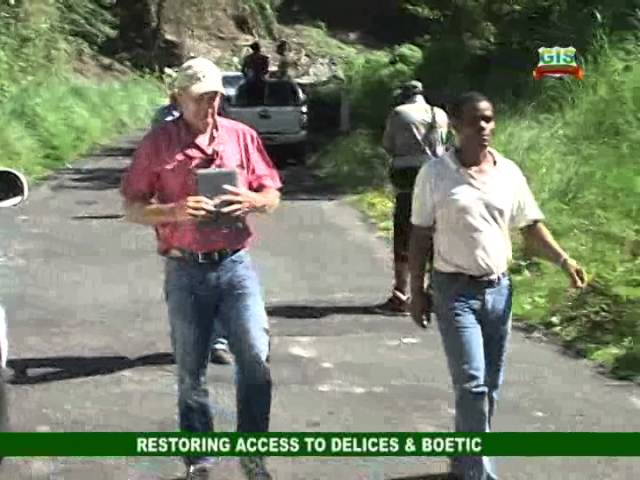GIS Dominica: Restoring Access between Delices and Boetica 9