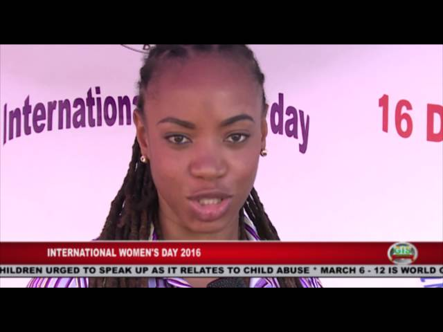 GIS Dominica Special Report: International Women's Day 2016 on the Streets 1