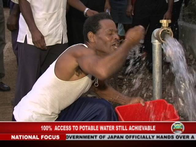 GIS Dominica: 100% Access to Potable Water Still Achievable 6