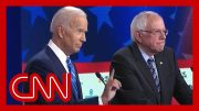 Decoding the many hand signals during the Democratic debate 5