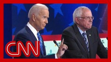 Decoding the many hand signals during the Democratic debate 6