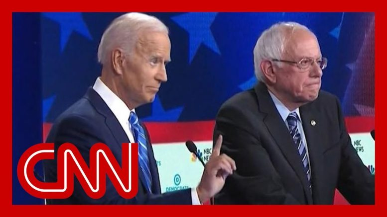Decoding the many hand signals during the Democratic debate 1