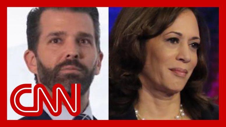 Trump Jr. sparks 'birther conspiracy' of Kamala Harris 1
