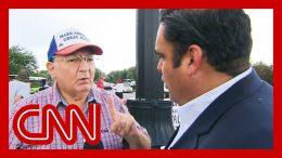 Trump voter's false claim surprises CNN reporter 8