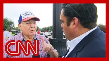 Trump voter's false claim surprises CNN reporter 10
