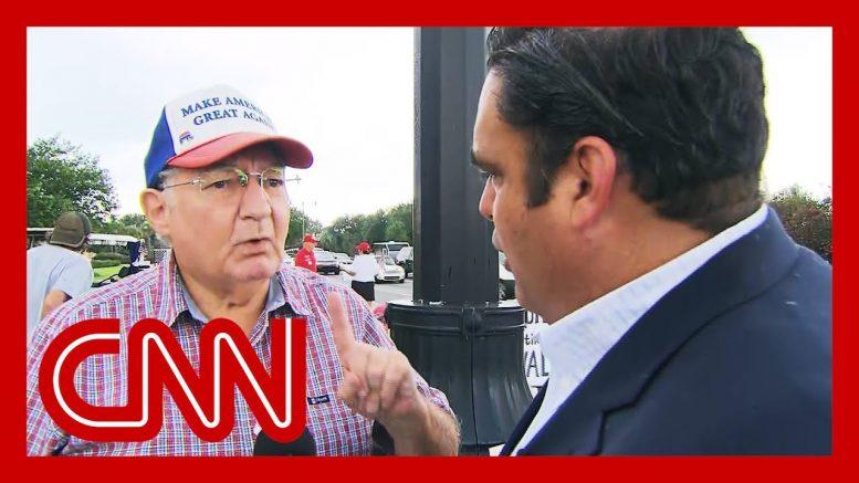 Trump voter's false claim surprises CNN reporter 1