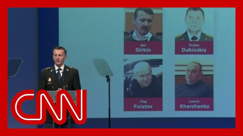 MH17 investigators name four suspects facing murder charges 1