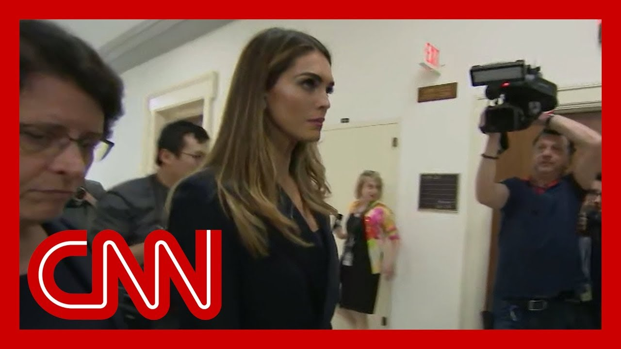 Ex-Trump confidante Hope Hicks testifying before Congress 6
