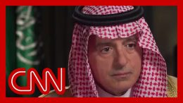 Amanpour confronts Saudi minister on Jamal Khashoggi killing 3
