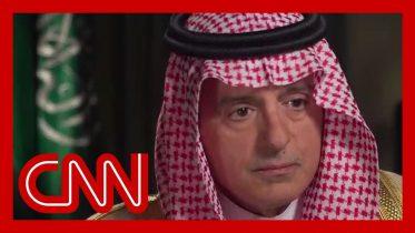 Amanpour confronts Saudi minister on Jamal Khashoggi killing 8