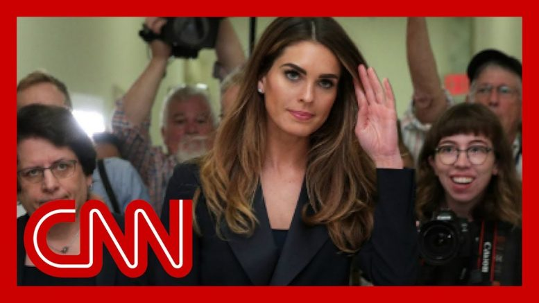Hope Hicks' House committee testimony revealed 1