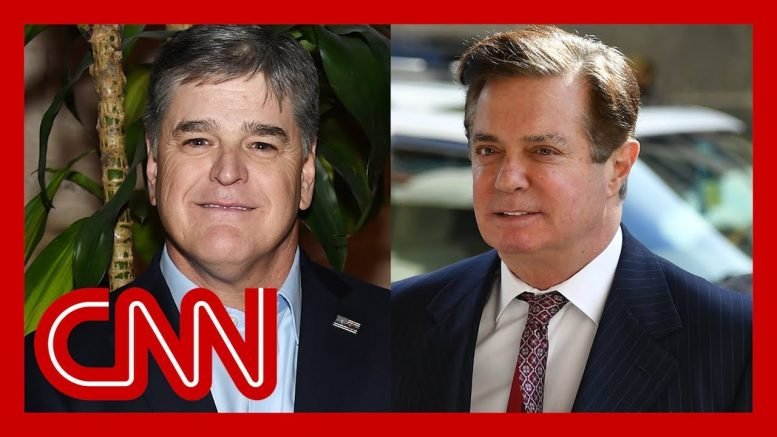 Manafort texts to Hannity: Would never give up Trump or Kushner 1