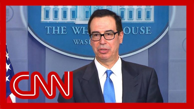 Steve Mnuchin details new sanctions on Iran 1