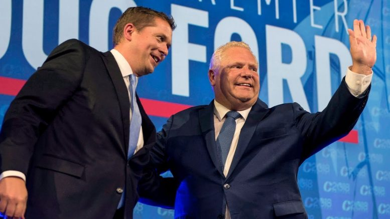 Will Doug Ford unpopularity impact Andrew Scheer's success in the polls? 1