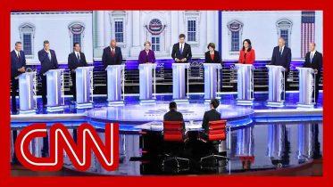 CNN commentators recap first 2020 Democratic presidential debate 7
