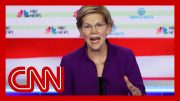 Hear Elizabeth Warren's response to question about debating Bernie Sanders 5