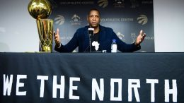 Raptors President Ujiri on his and Kawhi's future in Toronto 1