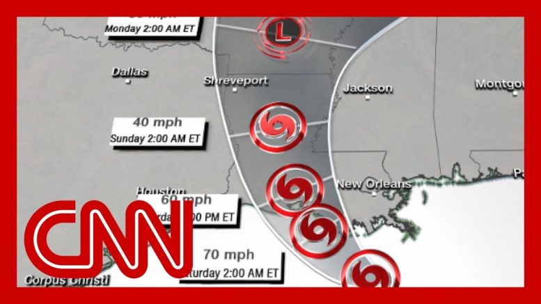 Louisiana braces for epic flooding from Tropical Storm Barry 1