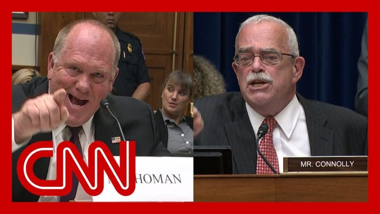 Lawmaker and ex-ICE director erupt at House hearing 1