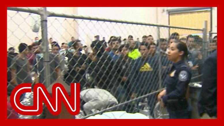 First-ever video from journalists inside border facilities 1