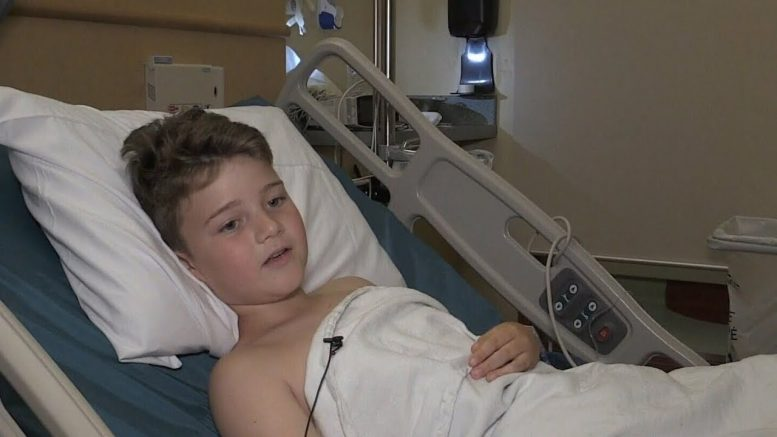 10-year-old boy's leg crushed by rock while in P.E.I. on vacation 1