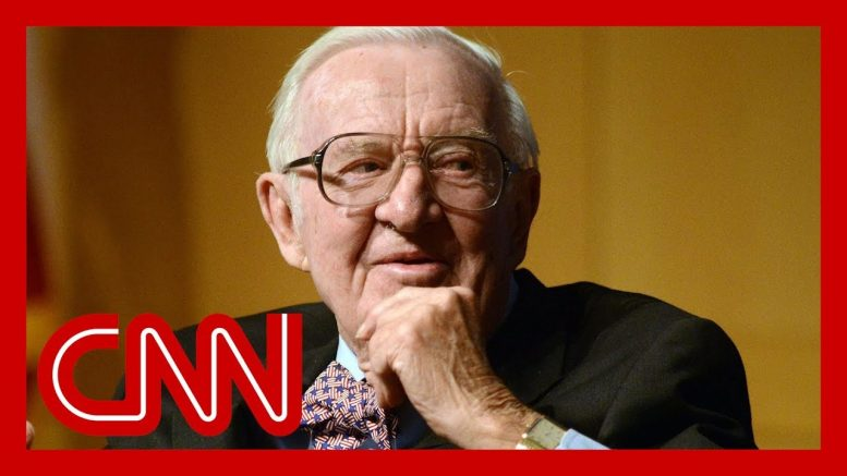 Retired Supreme Court Justice John Paul Stevens dies at 99 1