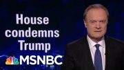 Just 4 Republicans Stand Up To Trump, Condemn Racist Tweets | The Last Word | MSNBC 4