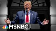 Trump Thanks GOP And Attacks Pelosi In Late Night Tweets After House Rebuke | The 11th Hour | MSNBC 5