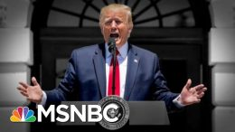 Trump Thanks GOP And Attacks Pelosi In Late Night Tweets After House Rebuke | The 11th Hour | MSNBC 6