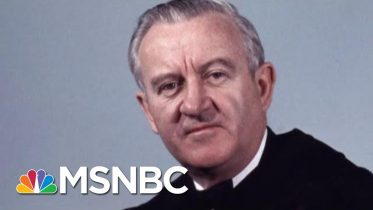 John Paul Stevens, 'The Rule Of Law Judge,' Known As A 'Judge's Judge' | Rachel Maddow | MSNBC 11