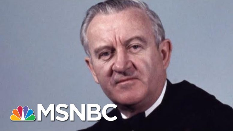 John Paul Stevens, 'The Rule Of Law Judge,' Known As A 'Judge's Judge' | Rachel Maddow | MSNBC 1