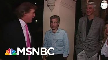 Newly-Found Footage Shows Donald Trump, Jeffrey Epstein At A '92 Party | Morning Joe | MSNBC 6
