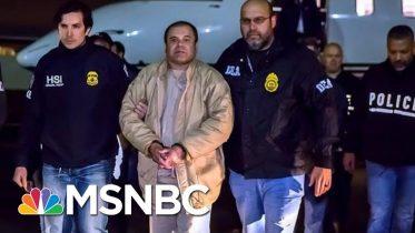 El Chapo Sentenced To Life, Addresses Court About Confinement Conditions | Hallie Jackson | MSNBC 2