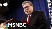 Bill Barr Made Final Call Not To Charge NYPD Cop In Eric Garner's Death | Velshi & Ruhle | MSNBC 2