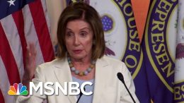 Speaker Nancy Pelosi On Impeachment Resolution: 'We Will Deal With It On The Floor' | MSNBC 4