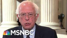 Senator Bernie Sanders On Healthcare And Cardi B | Velshi & Ruhle | MSNBC 1