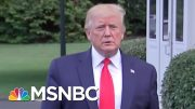 President Donald Trump: 'I'm Not Relishing The Fight' | MTP Daily | MSNBC 3