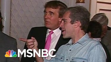 Footage Of Trump Partying With Epstein Surfaces | Deadline | MSNBC 3