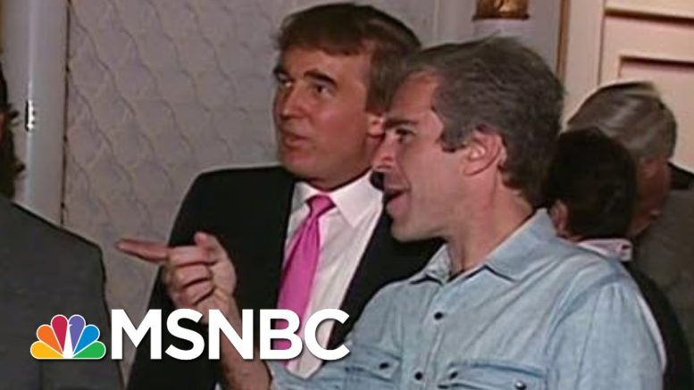 Footage Of Trump Partying With Epstein Surfaces | Deadline | MSNBC 1