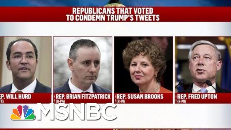President Donald Trump Makes Racism His Brand For 2020 Campaign | Deadline | MSNBC 1