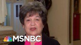 Representative Lois Frankel On Jeffrey Epstein, Trump's Racist Rhetoric | Velshi & Ruhle | MSNBC 1