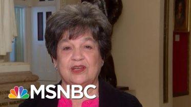 Representative Lois Frankel On Jeffrey Epstein, Trump's Racist Rhetoric | Velshi & Ruhle | MSNBC 2