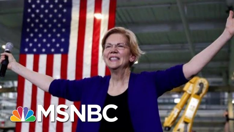 Senator Elizabeth Warren Targets Wall Street In New Economic Plan | Velshi & Ruhle | MSNBC 1