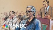 Flight Risk, Danger To Community Cited By Judge For Epstein Bail Denial | Craig Melvin | MSNBC 3